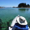 Kayaking in the gorgeous Bunsby Islands