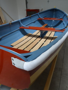 10 ft Acorn Dinghy designed by Iain Oughtred